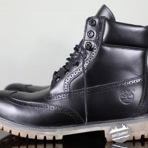 Glosario a pesar de Disfrazado  Timberland Shoes   6 Inch Premium Brogue Boots Blacksz11   Poshmark